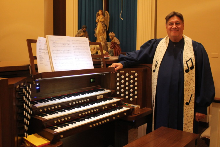 Organist and Director of Music Mininstry, David Koskey